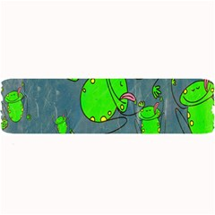 Cartoon Grunge Frog Wallpaper Background Large Bar Mats