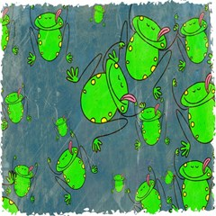 Cartoon Grunge Frog Wallpaper Background Magic Photo Cubes