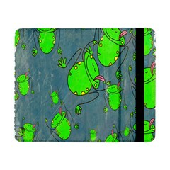 Cartoon Grunge Frog Wallpaper Background Samsung Galaxy Tab Pro 8 4  Flip Case
