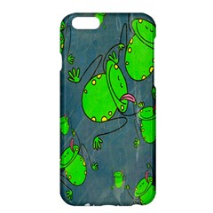 Cartoon Grunge Frog Wallpaper Background Apple iPhone 6 Plus/6S Plus Hardshell Case