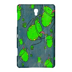 Cartoon Grunge Frog Wallpaper Background Samsung Galaxy Tab S (8.4 ) Hardshell Case