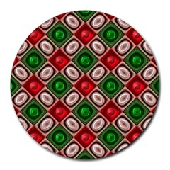 Gem Texture A Completely Seamless Tile Able Background Design Round Mousepads