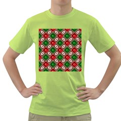 Gem Texture A Completely Seamless Tile Able Background Design Green T-Shirt