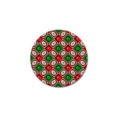 Gem Texture A Completely Seamless Tile Able Background Design Golf Ball Marker (4 pack)