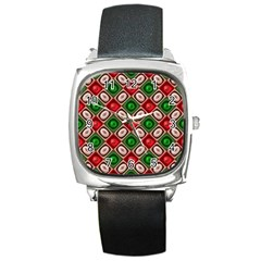 Gem Texture A Completely Seamless Tile Able Background Design Square Metal Watch