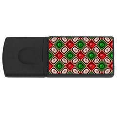 Gem Texture A Completely Seamless Tile Able Background Design USB Flash Drive Rectangular (4 GB)