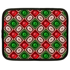 Gem Texture A Completely Seamless Tile Able Background Design Netbook Case (Large)