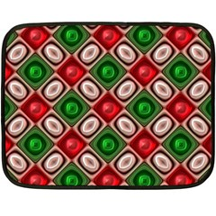 Gem Texture A Completely Seamless Tile Able Background Design Double Sided Fleece Blanket (mini)