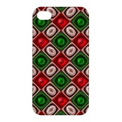 Gem Texture A Completely Seamless Tile Able Background Design Apple iPhone 4/4S Premium Hardshell Case