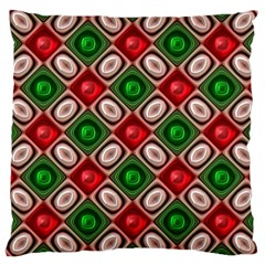 Gem Texture A Completely Seamless Tile Able Background Design Large Cushion Case (one Side)