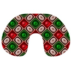 Gem Texture A Completely Seamless Tile Able Background Design Travel Neck Pillows