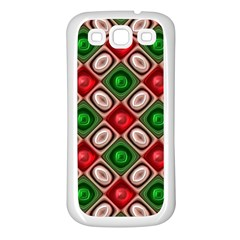 Gem Texture A Completely Seamless Tile Able Background Design Samsung Galaxy S3 Back Case (white)