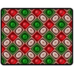 Gem Texture A Completely Seamless Tile Able Background Design Double Sided Fleece Blanket (medium)