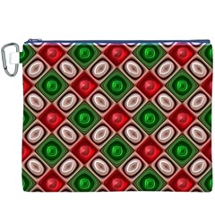 Gem Texture A Completely Seamless Tile Able Background Design Canvas Cosmetic Bag (XXXL)