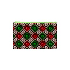 Gem Texture A Completely Seamless Tile Able Background Design Cosmetic Bag (XS)