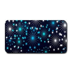 Digitally Created Snowflake Pattern Background Medium Bar Mats