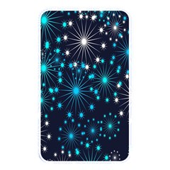 Digitally Created Snowflake Pattern Background Memory Card Reader