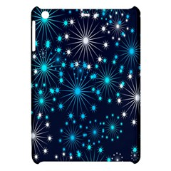 Digitally Created Snowflake Pattern Background Apple iPad Mini Hardshell Case