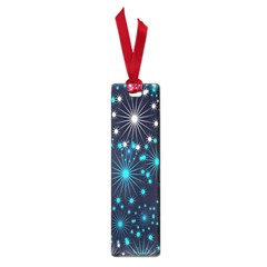 Digitally Created Snowflake Pattern Background Small Book Marks