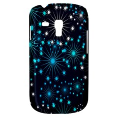 Digitally Created Snowflake Pattern Background Galaxy S3 Mini