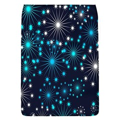 Digitally Created Snowflake Pattern Background Flap Covers (S)