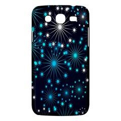 Digitally Created Snowflake Pattern Background Samsung Galaxy Mega 5 8 I9152 Hardshell Case