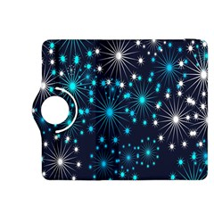 Digitally Created Snowflake Pattern Background Kindle Fire HDX 8.9  Flip 360 Case