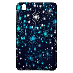 Digitally Created Snowflake Pattern Background Samsung Galaxy Tab Pro 8.4 Hardshell Case