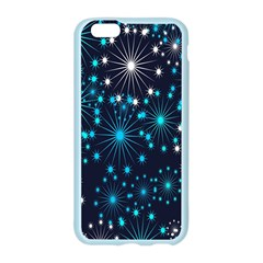 Digitally Created Snowflake Pattern Background Apple Seamless iPhone 6/6S Case (Color)