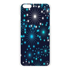 Digitally Created Snowflake Pattern Background Apple Seamless iPhone 6 Plus/6S Plus Case (Transparent)