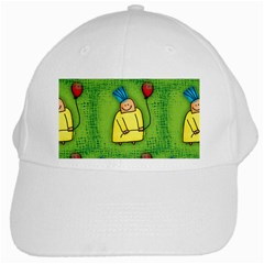 Party Kid A Completely Seamless Tile Able Design White Cap