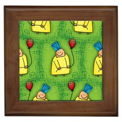Party Kid A Completely Seamless Tile Able Design Framed Tiles