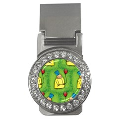 Party Kid A Completely Seamless Tile Able Design Money Clips (cz)