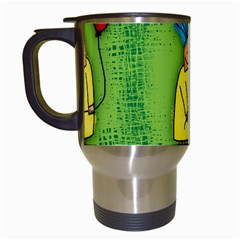 Party Kid A Completely Seamless Tile Able Design Travel Mugs (white)
