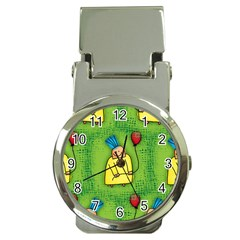 Party Kid A Completely Seamless Tile Able Design Money Clip Watches