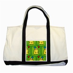 Party Kid A Completely Seamless Tile Able Design Two Tone Tote Bag