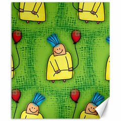 Party Kid A Completely Seamless Tile Able Design Canvas 8  x 10