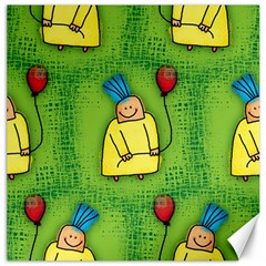 Party Kid A Completely Seamless Tile Able Design Canvas 12  x 12
