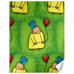 Party Kid A Completely Seamless Tile Able Design Canvas 12  x 16