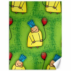 Party Kid A Completely Seamless Tile Able Design Canvas 18  x 24