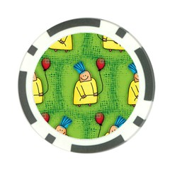 Party Kid A Completely Seamless Tile Able Design Poker Chip Card Guard