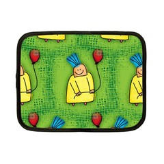 Party Kid A Completely Seamless Tile Able Design Netbook Case (Small)