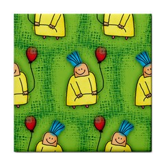 Party Kid A Completely Seamless Tile Able Design Face Towel