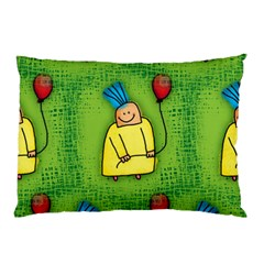 Party Kid A Completely Seamless Tile Able Design Pillow Case
