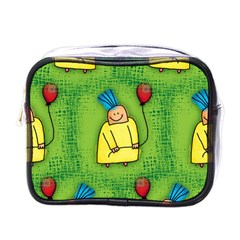 Party Kid A Completely Seamless Tile Able Design Mini Toiletries Bags