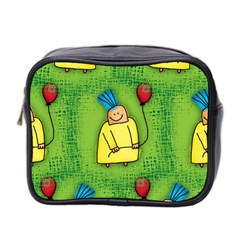 Party Kid A Completely Seamless Tile Able Design Mini Toiletries Bag 2-Side
