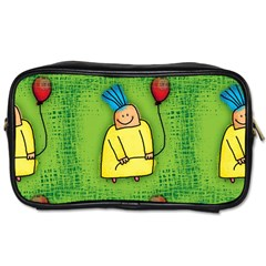 Party Kid A Completely Seamless Tile Able Design Toiletries Bags