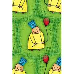 Party Kid A Completely Seamless Tile Able Design 5.5  x 8.5  Notebooks