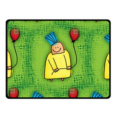 Party Kid A Completely Seamless Tile Able Design Fleece Blanket (Small)