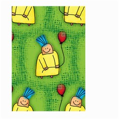 Party Kid A Completely Seamless Tile Able Design Large Garden Flag (two Sides)